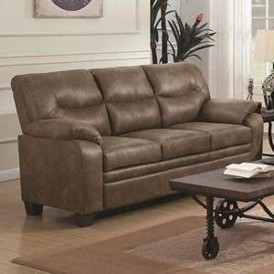 Casual Padded Sofa