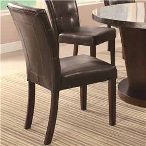 Dining Side Chair w/ Plush Upholstery