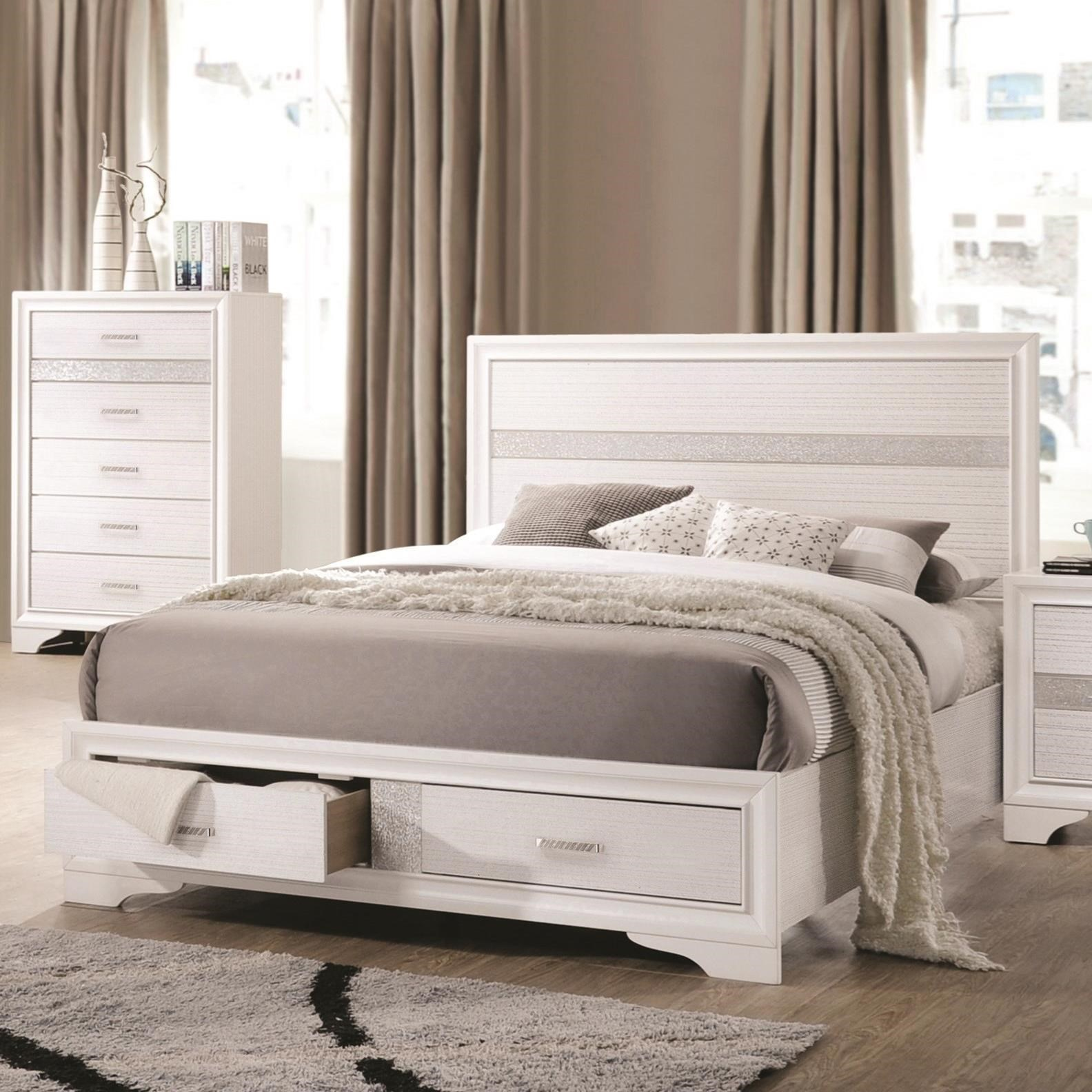 Miranda Queen Storage Bed by Coaster at Northeast Factory Direct