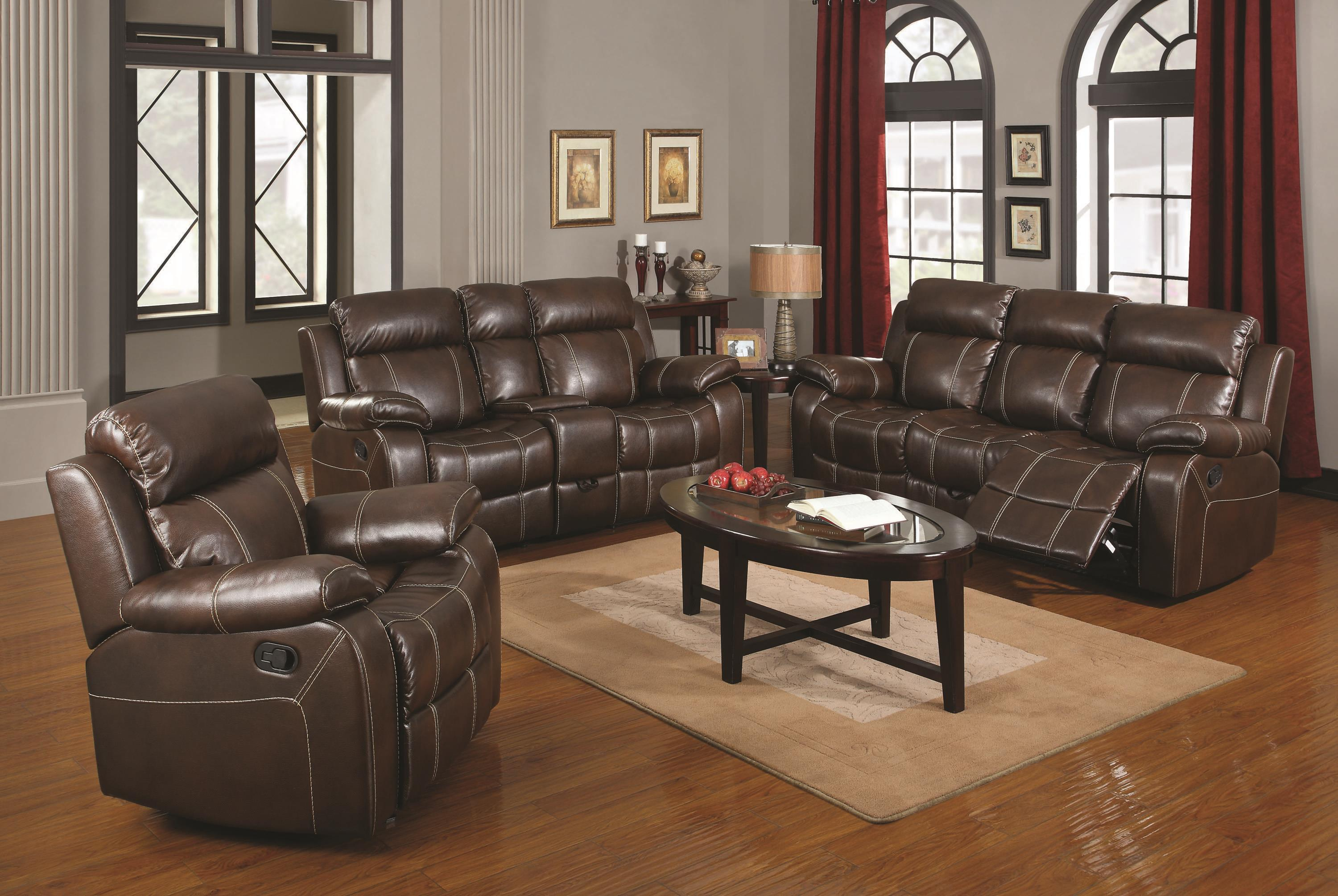 Myleene Reclining Living Room Group by Coaster at Value City Furniture