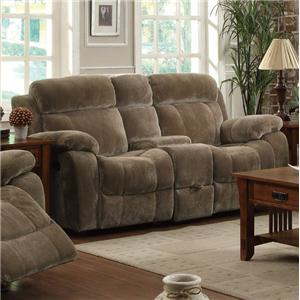 Double Gliding Loveseat  w/ Cup Holders