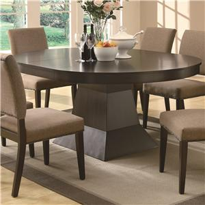 Dining Oval Table w/ Extension