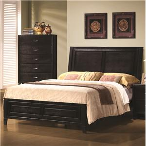 Queen Contemporary Headboard and Footboard Bed