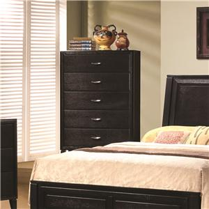 5 Drawer Vertical Bedroom Chest