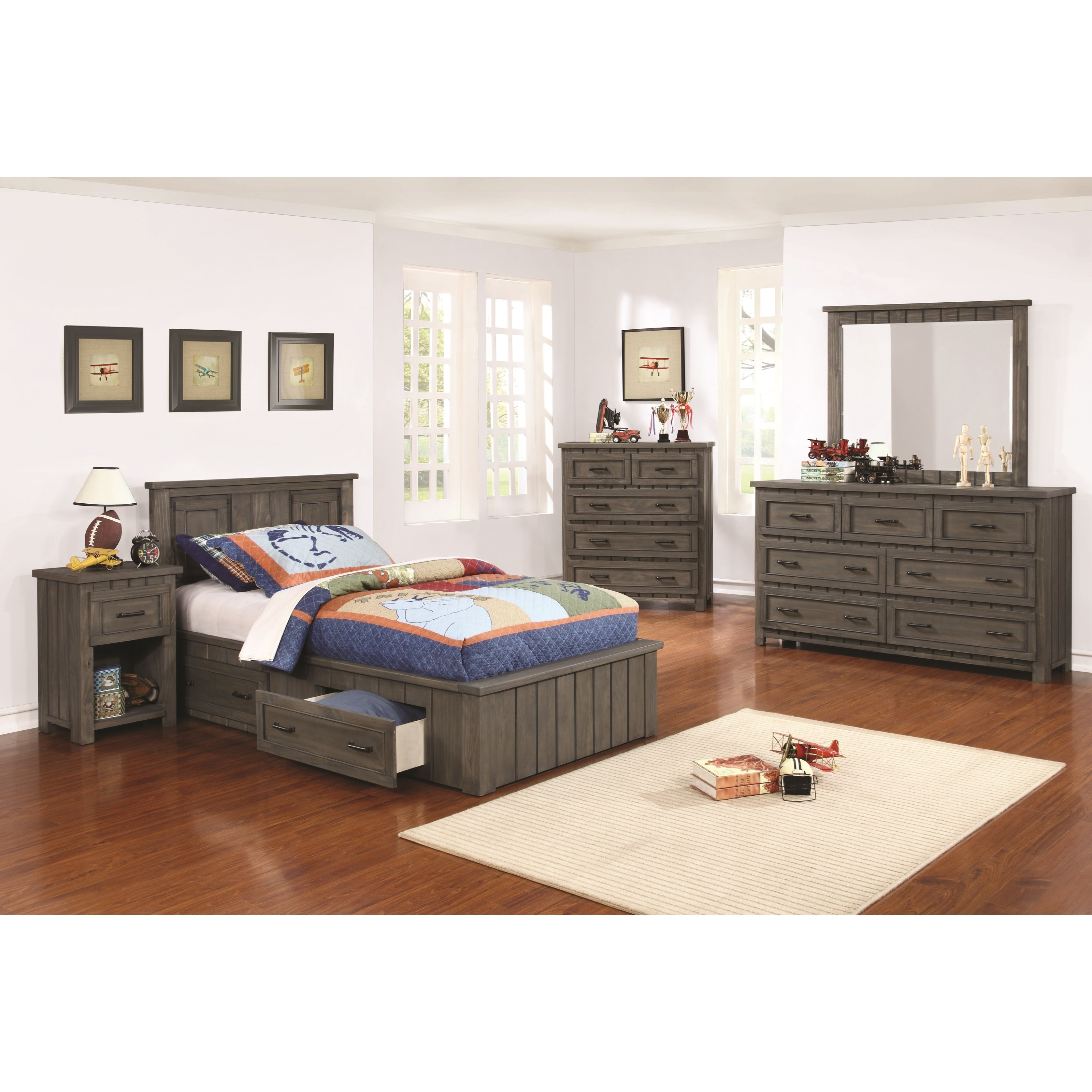 Napoleon Full Bedroom Group by Coaster at Northeast Factory Direct