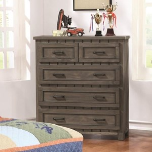 Transitional Chest with Paneled Design