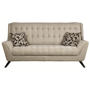 Retro Sofa w/ Flared Arms