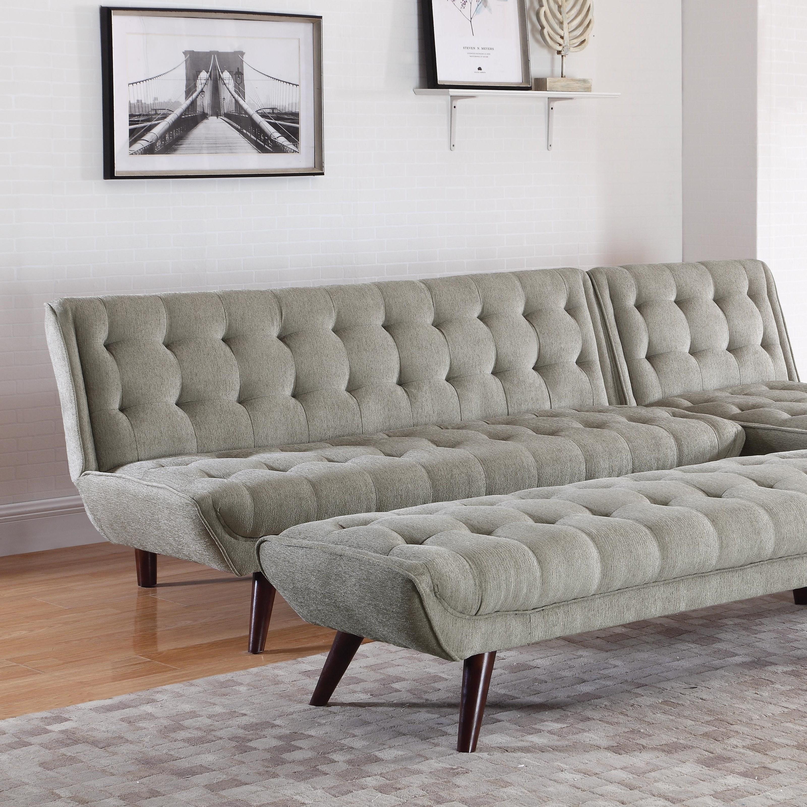 Natalia Sofa/Sofa Bed by Coaster at Lapeer Furniture & Mattress Center