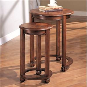 2 Piece Round Nesting Tables