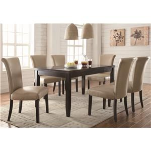 Coaster Newbridge 7 Piece Dining Set
