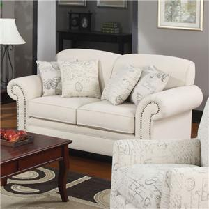 Coaster Norah Love Seat