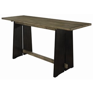 Solid Wood Counter Height Table