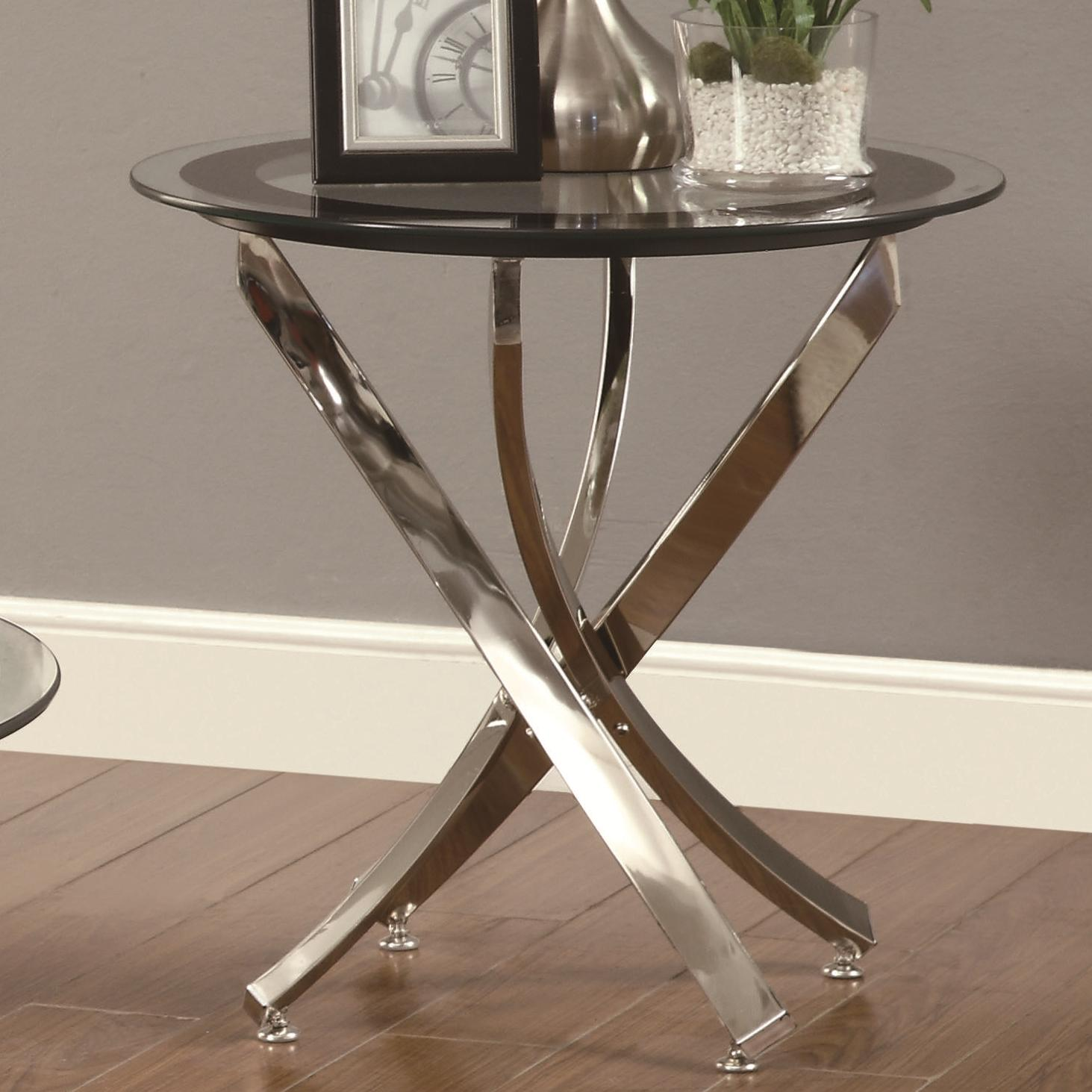 Occasional Group 702580 End Table by Coaster at Northeast Factory Direct
