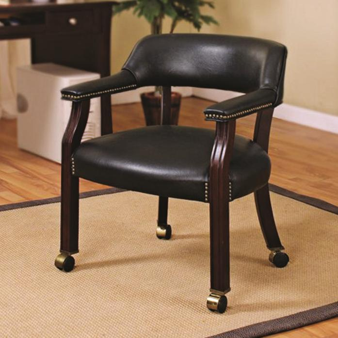 Office Chairs Office Side Chair by Coaster at Lapeer Furniture & Mattress Center