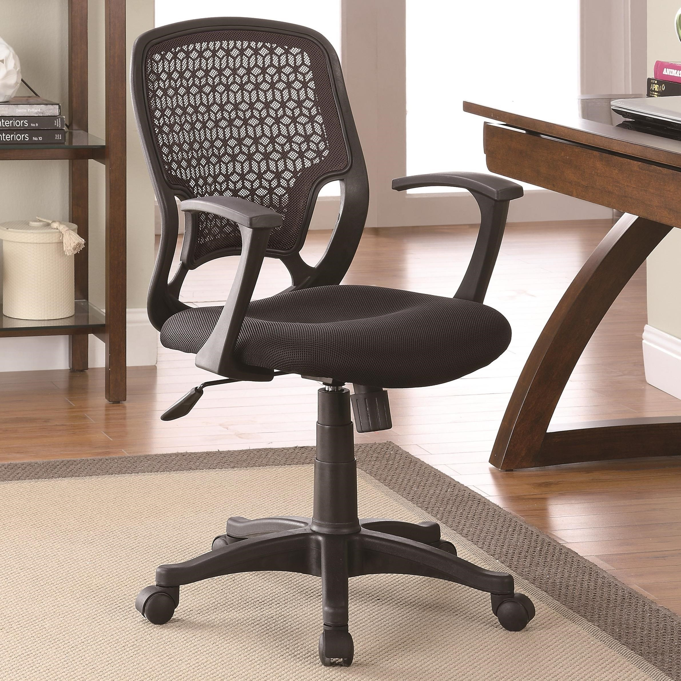 Office Chairs Mesh Chair by Coaster at Lapeer Furniture & Mattress Center