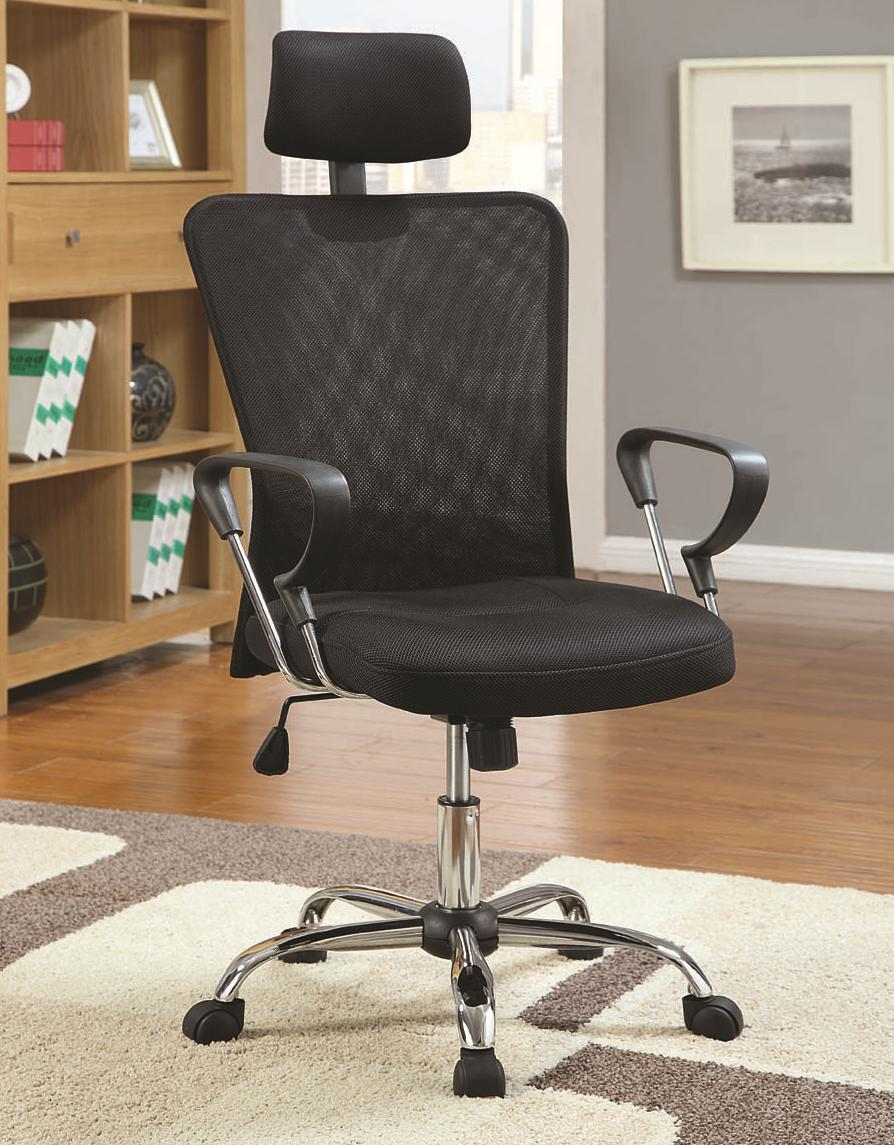 Office Chairs Executive Chair by Coaster at Lapeer Furniture & Mattress Center