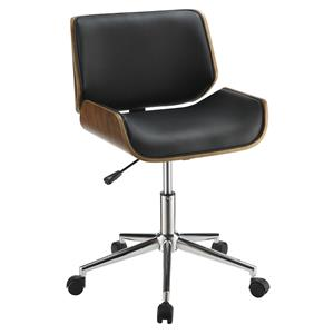 Contemporary Leatherette Office Chair