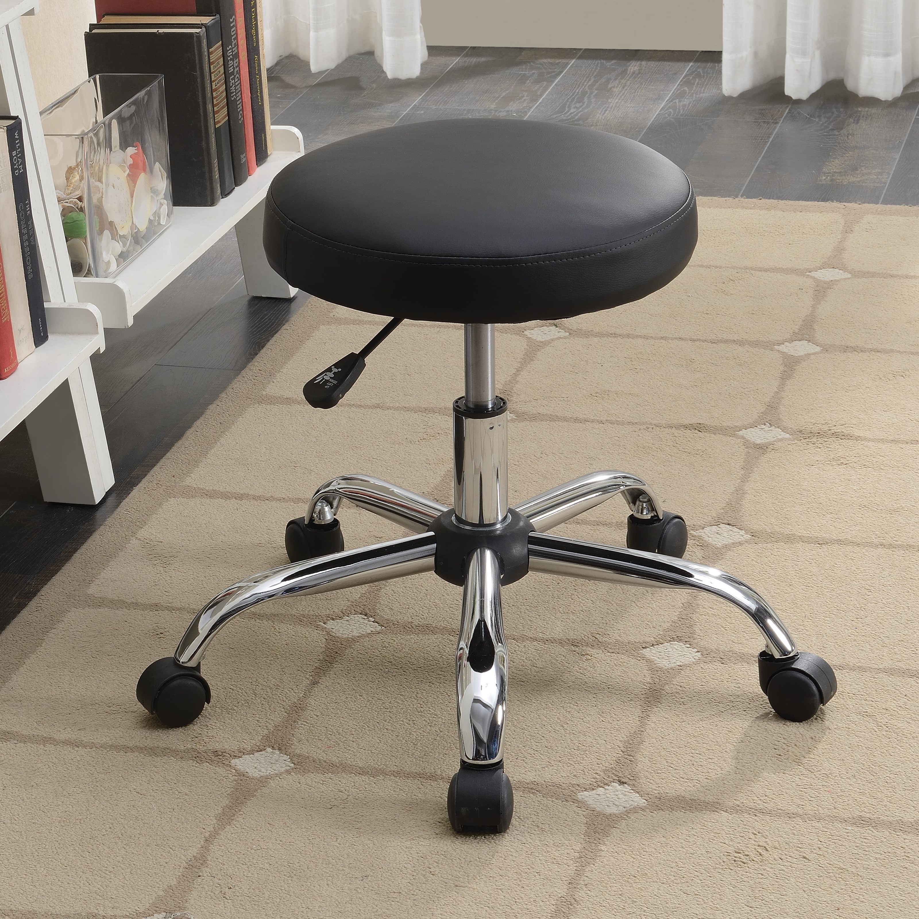 Office Chairs Office Stool by Coaster at Lapeer Furniture & Mattress Center