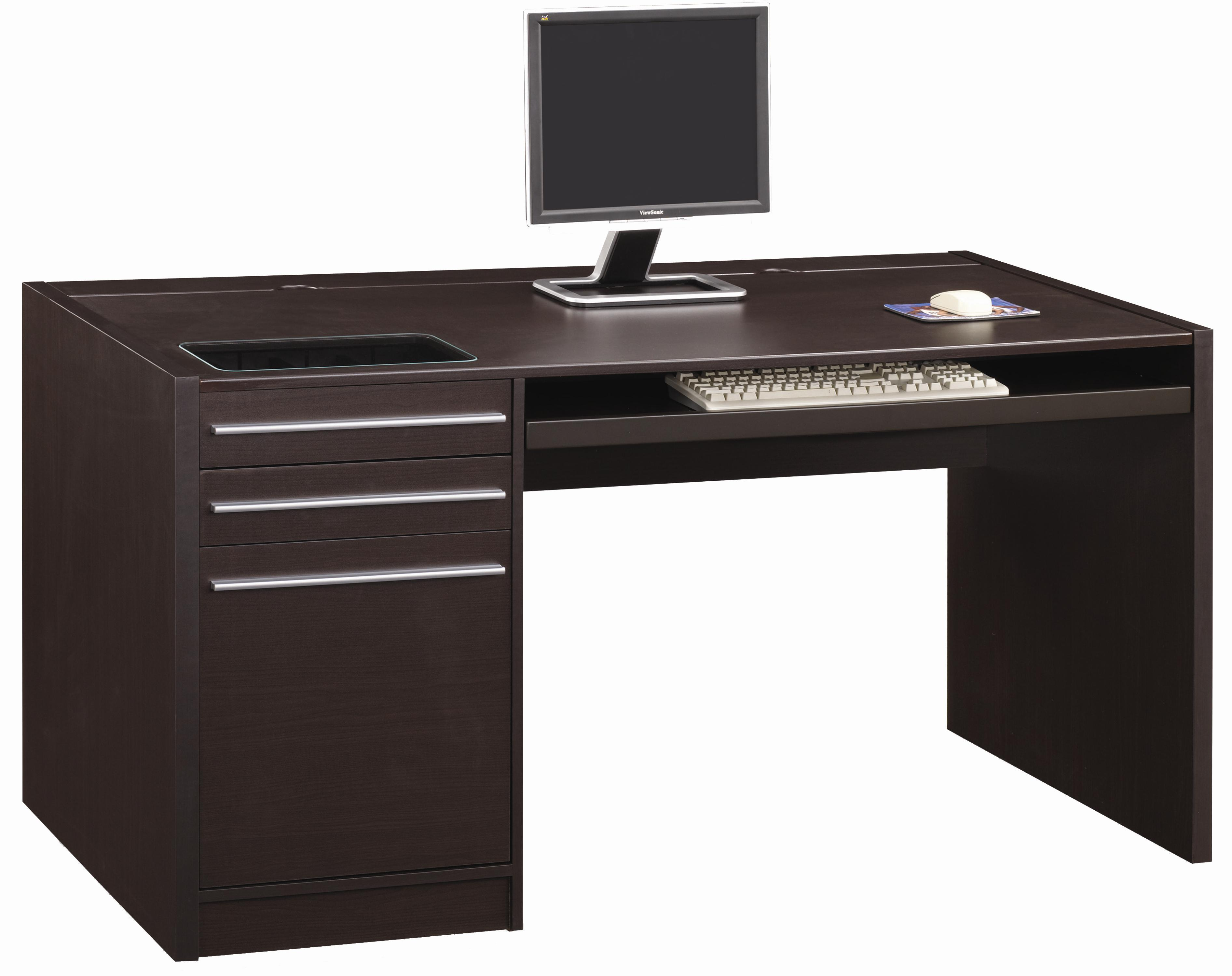 Ontario Single Pedestal Desk by Coaster at Northeast Factory Direct