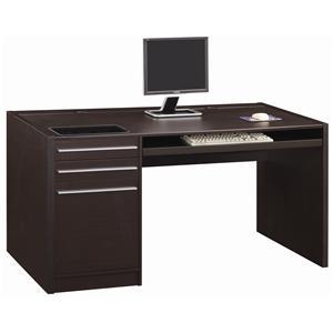 Coaster Ontario Single Pedestal Desk