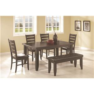 Coaster Page 6 Piece Dining Set