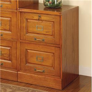 Coaster Palmetto File Cabinet with 2 Drawers