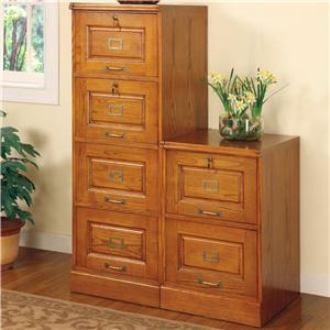 Coaster Palmetto File Cabinet with 4 Drawers