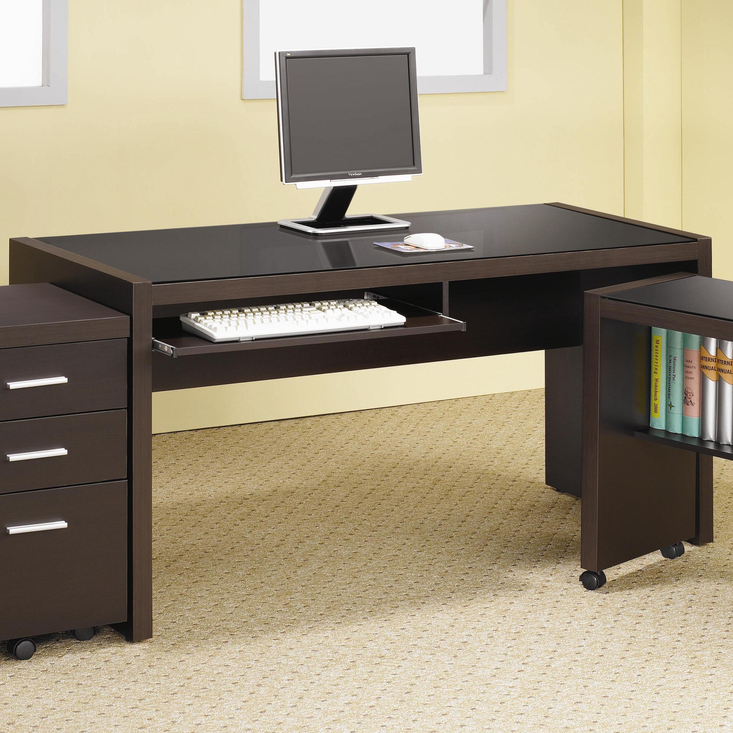 Skylar Computer Desk by Coaster at Sam Levitz Outlet