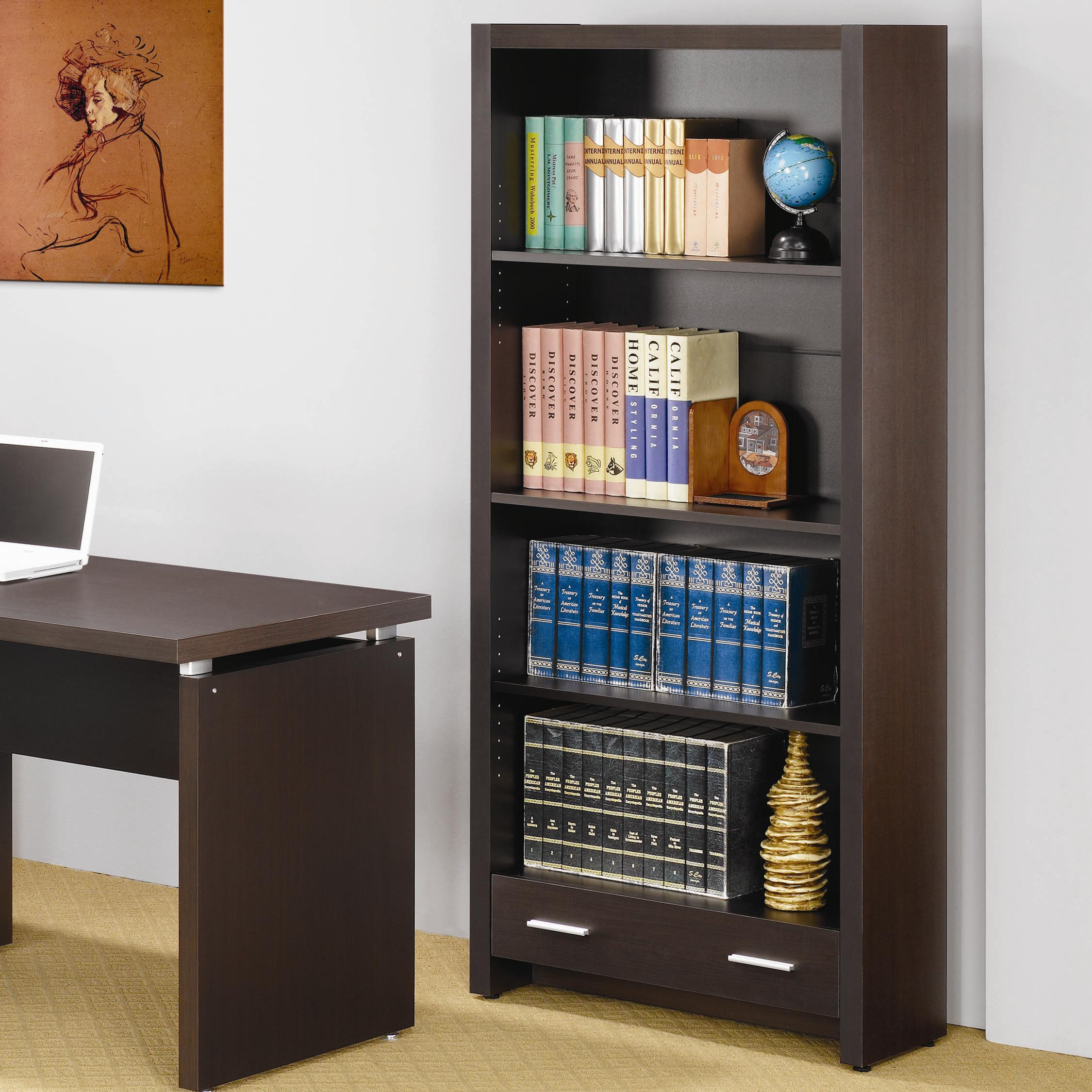 Skylar Bookcase by Coaster at Northeast Factory Direct