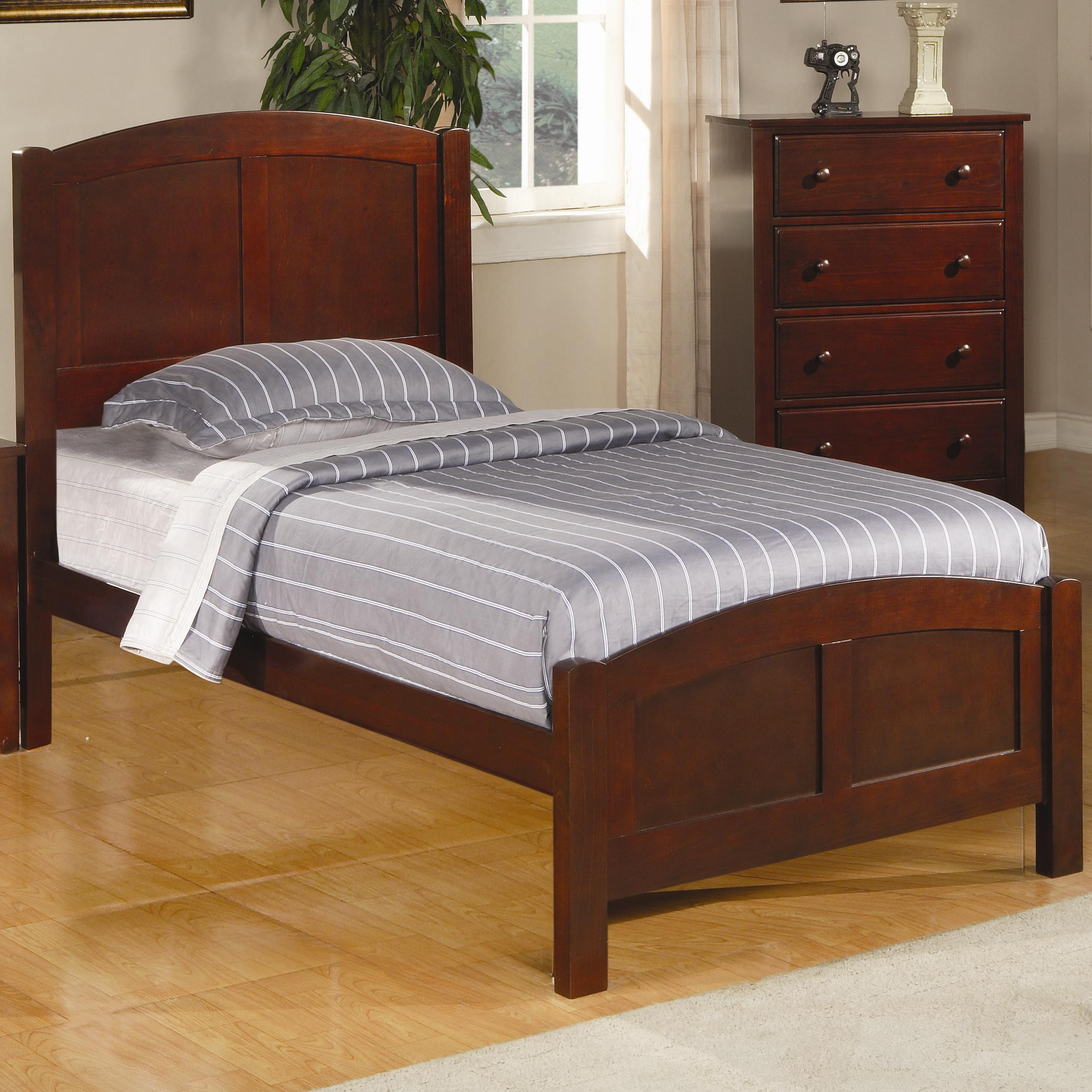 Parker Twin Panel Bed by Coaster at Northeast Factory Direct