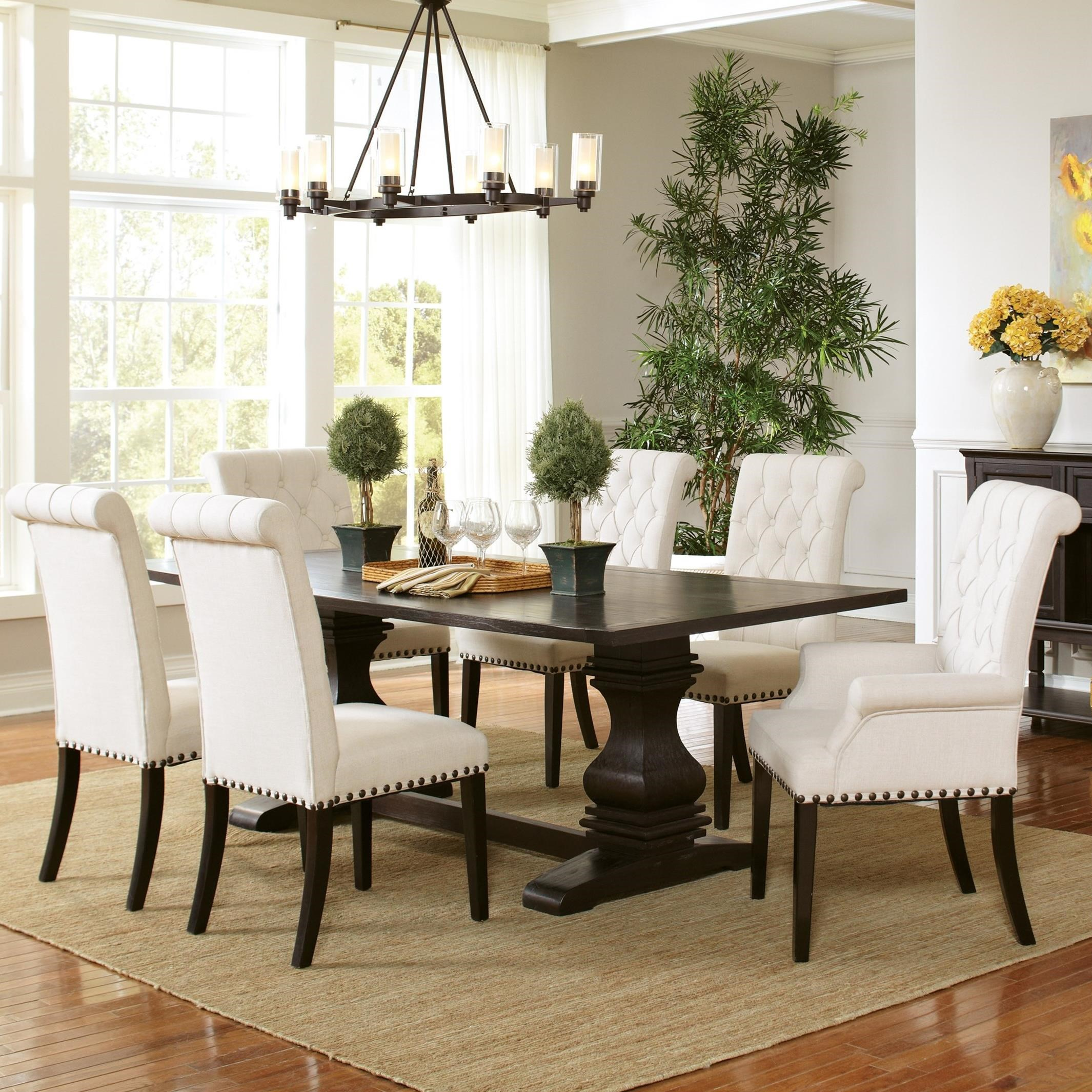 Parkins Table and Chair Set by Coaster at Northeast Factory Direct