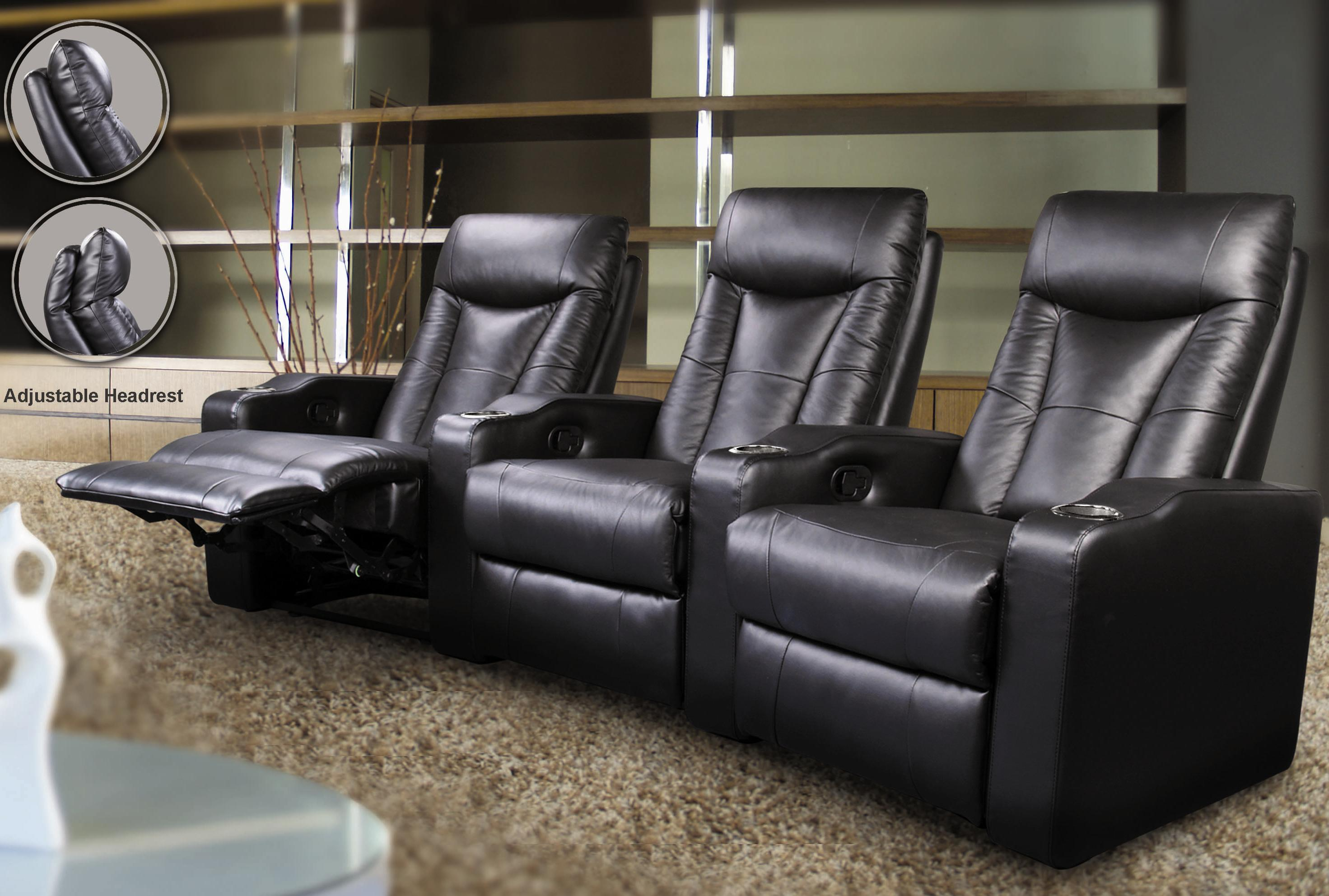 Pavillion Theater Seating by Coaster at Value City Furniture