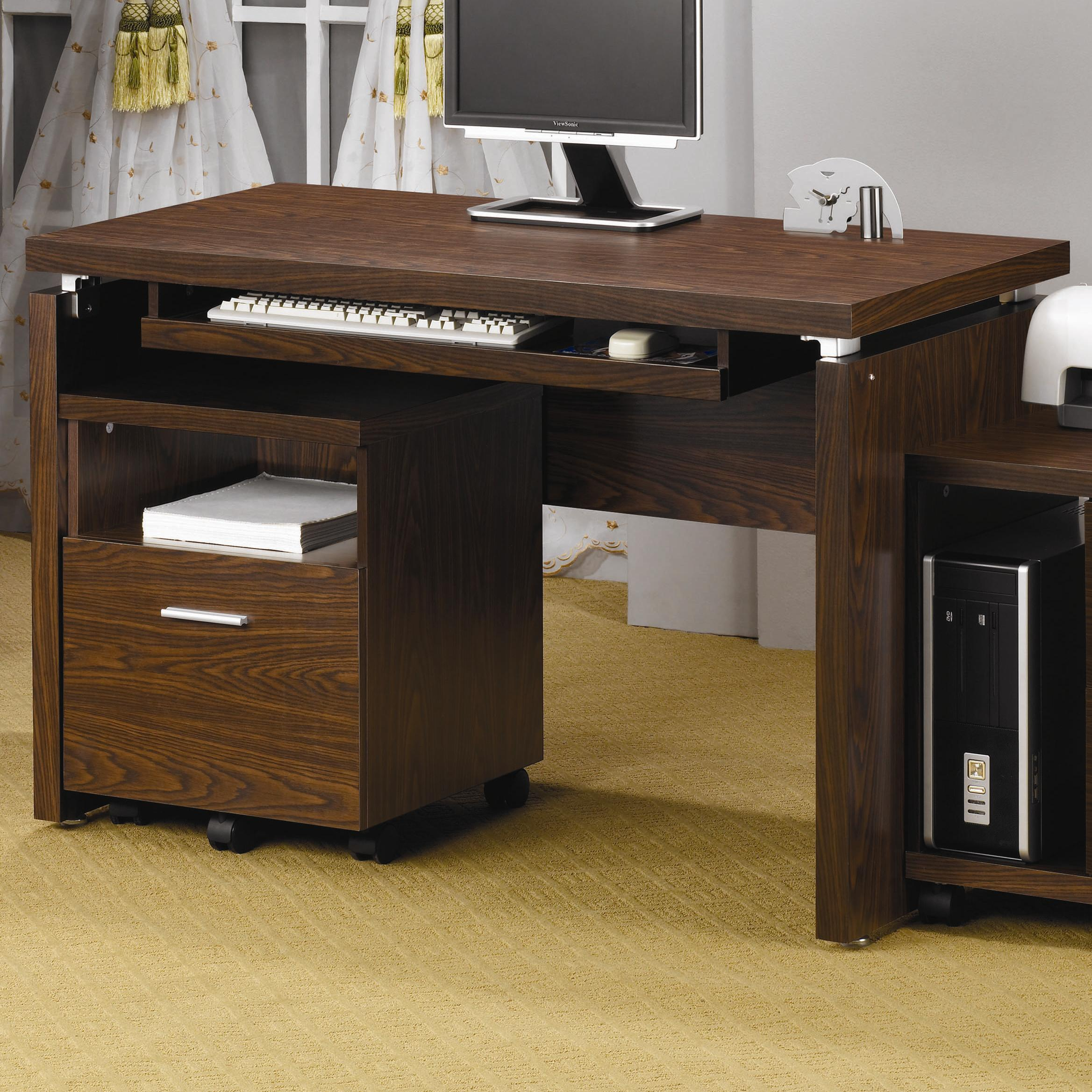 Peel Computer Desk by Coaster at Northeast Factory Direct