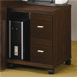 Coaster Peel Computer Stand