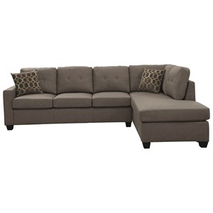 Casual-Contemporary Sectional
