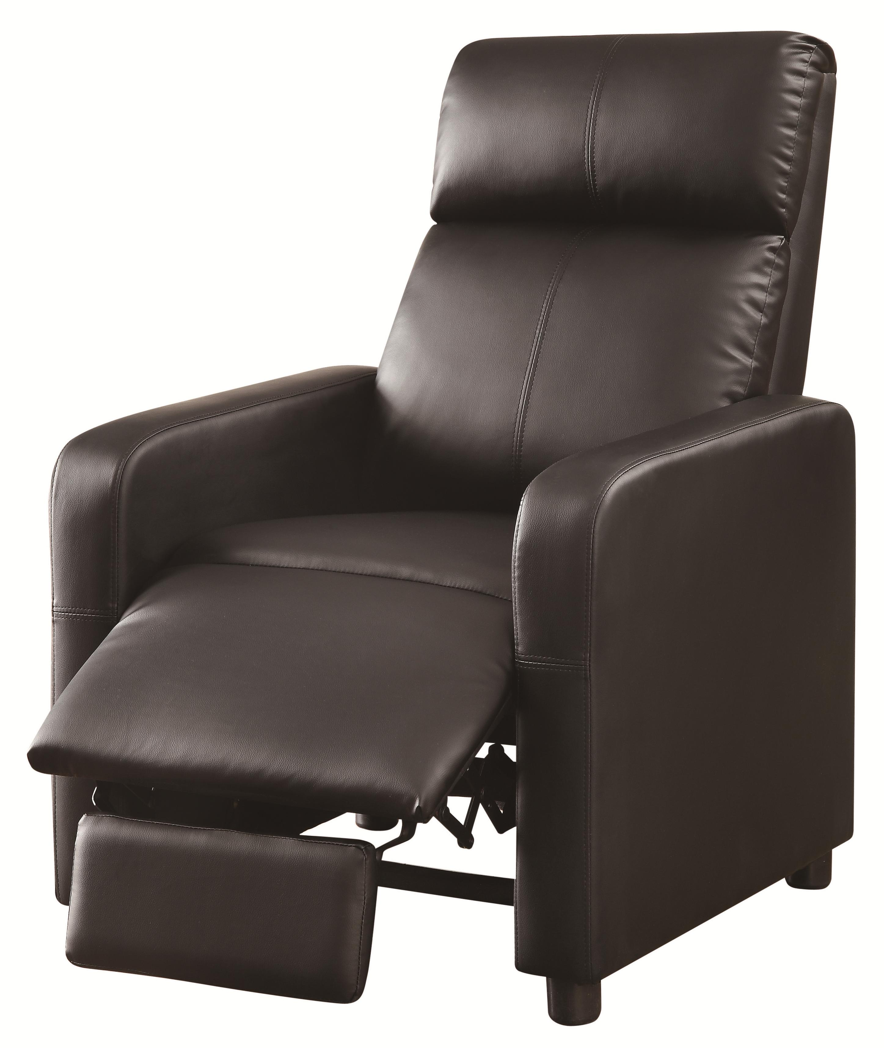 Recliners Push-Back Recliner by Coaster at Value City Furniture