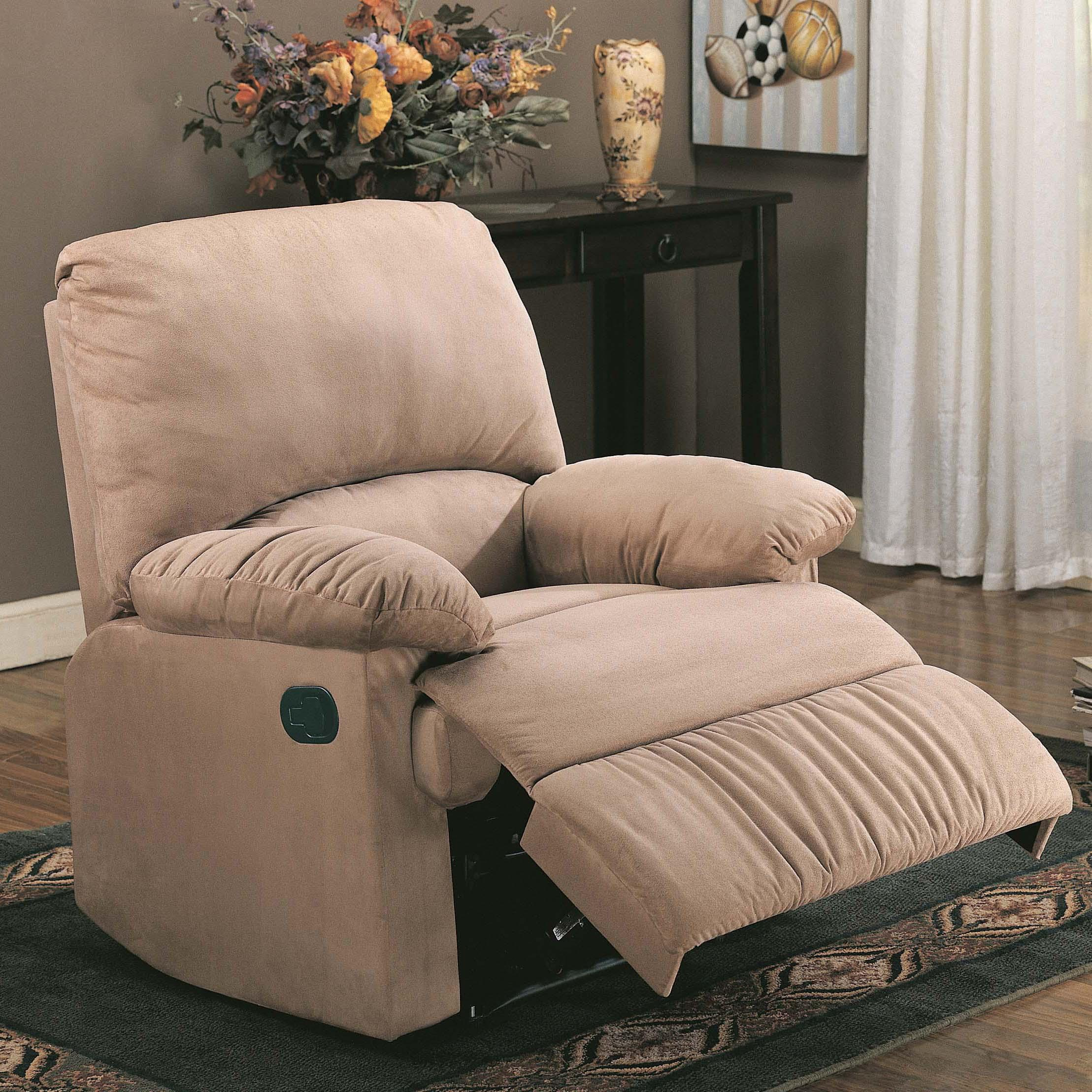 Recliners Glider Recliner by Coaster at Value City Furniture
