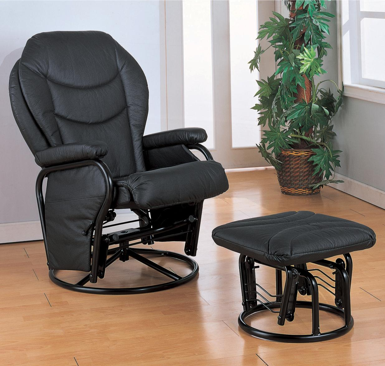 Recliners with Ottomans Recliner with Ottoman by Coaster at Northeast Factory Direct