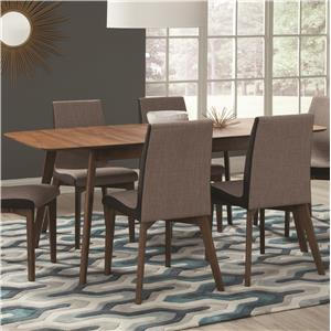 Dining Table with Extension Leaf