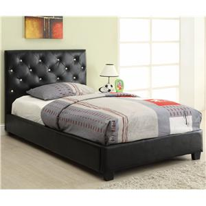 Coaster Regina Twin Bed