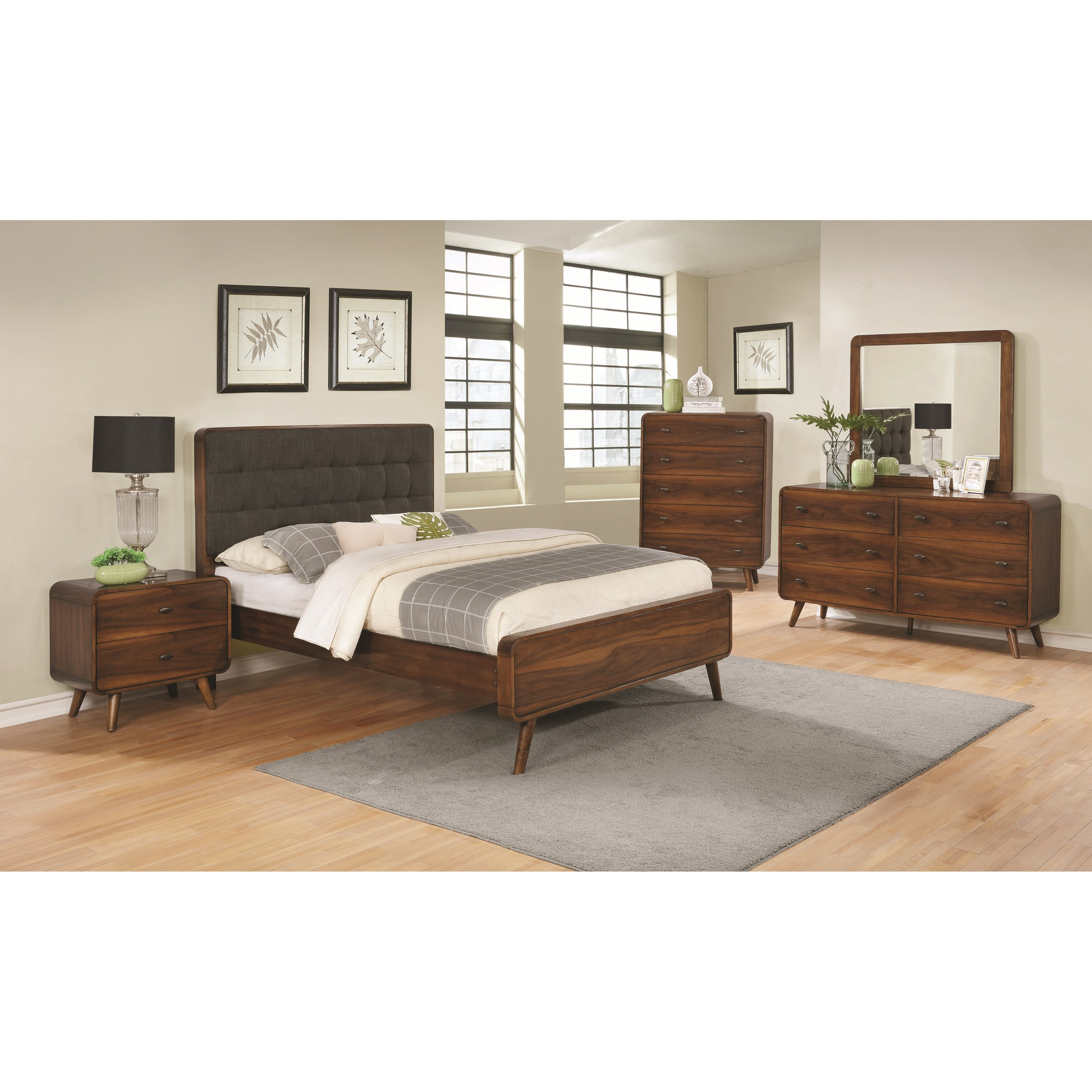 Robyn Queen Bedroom Group - NO CHEST by Coaster at Beck's Furniture