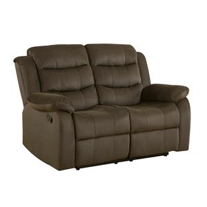 Casual Motion Loveseat with Pillow Arms