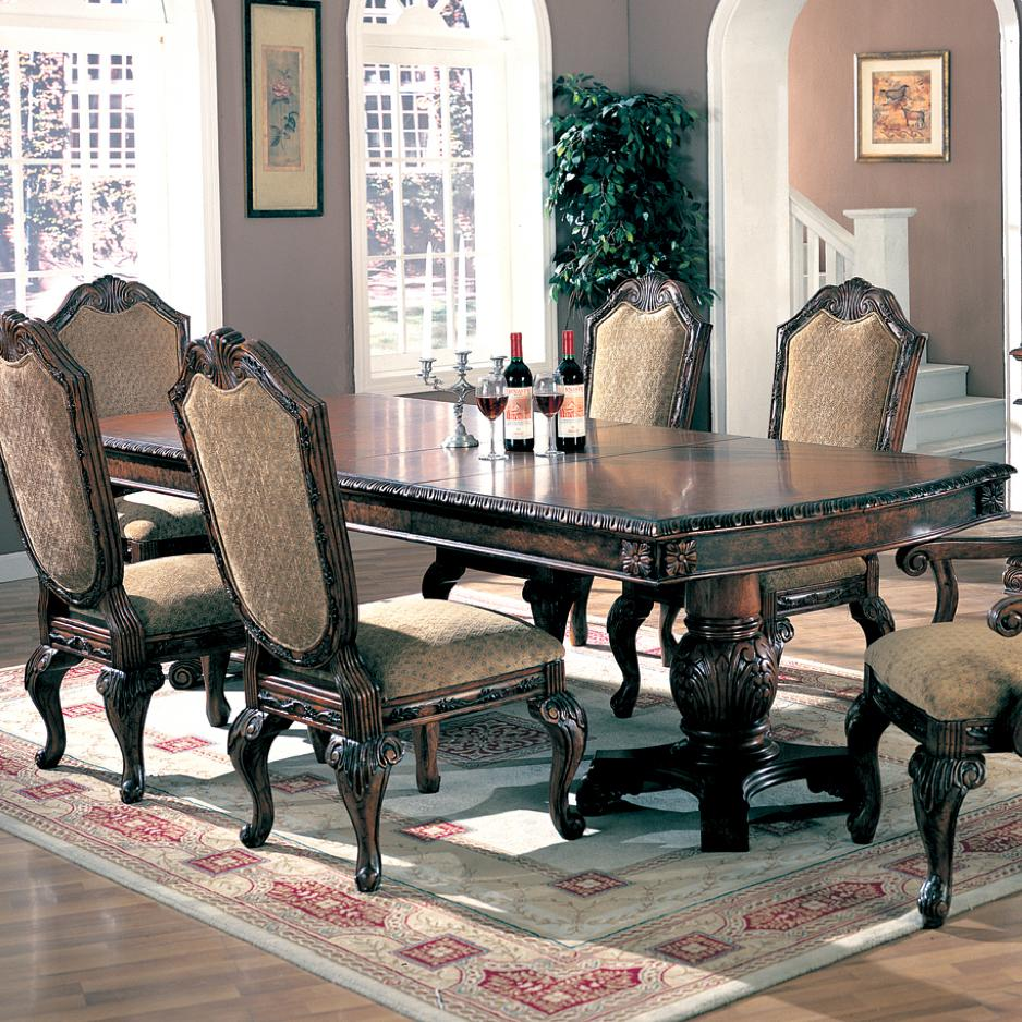 Saint Charles Dining Table by Coaster at Lapeer Furniture & Mattress Center