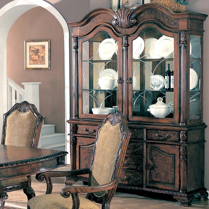 Saint Charles China Cabinet by Coaster at Lapeer Furniture & Mattress Center