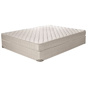 "Twin 6"" Foam Mattress and 2"" Wood Foundation"