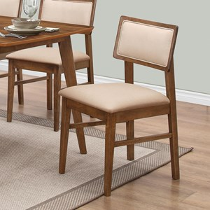 Upholstered Retro Dining Side Chair