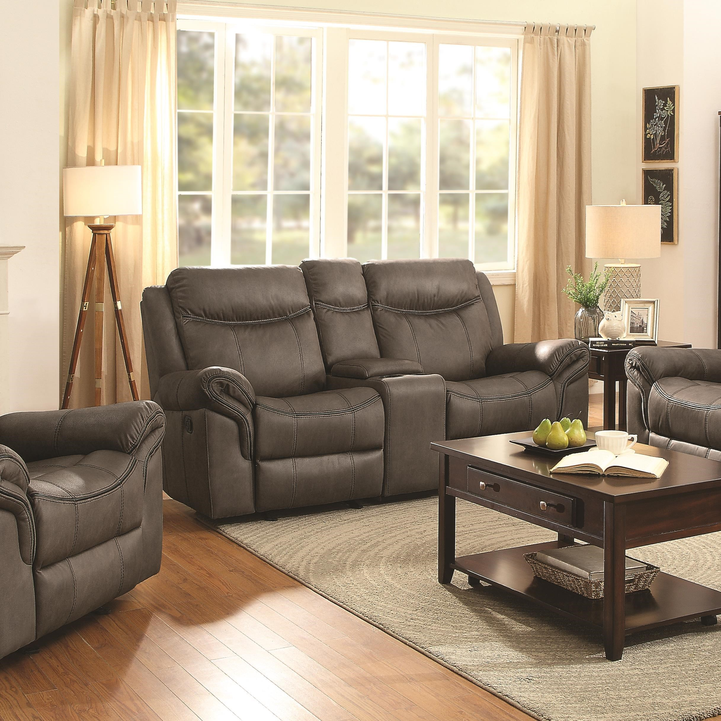Sawyer Motion Glider Motion Loveseat by Coaster at Northeast Factory Direct