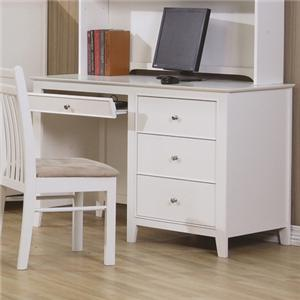 Computer Desk with Drawer Storage