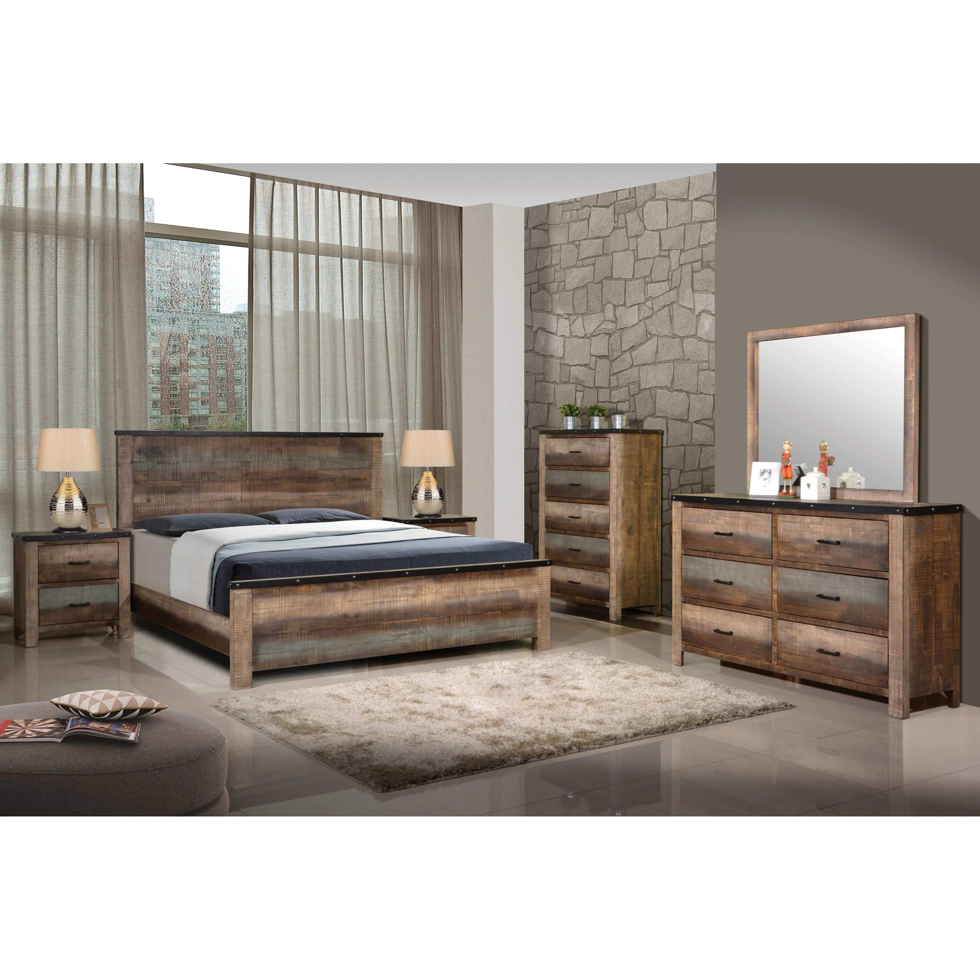 Sembene King Bedroom Group by Coaster at Northeast Factory Direct