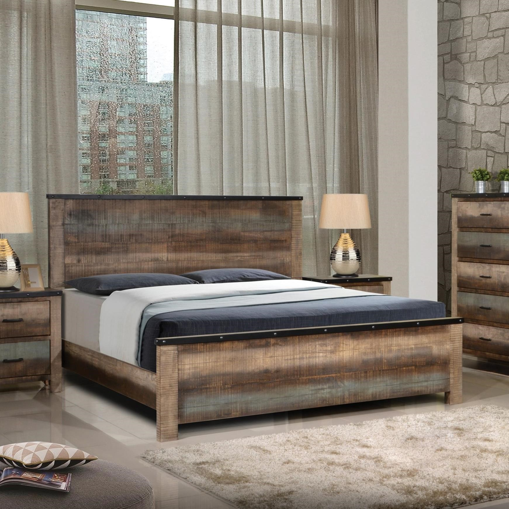 Sembene Queen Bed by Coaster at Northeast Factory Direct